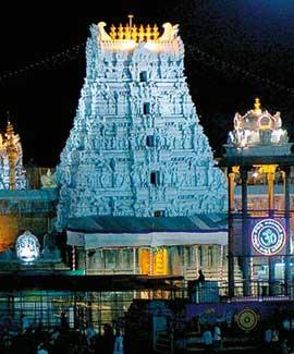 Temples in Andrapradesh