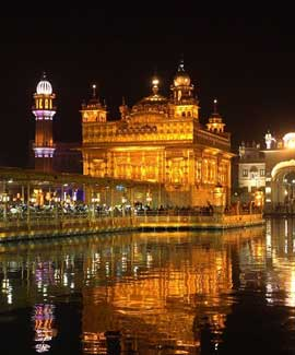 Golden Temple in Punjab